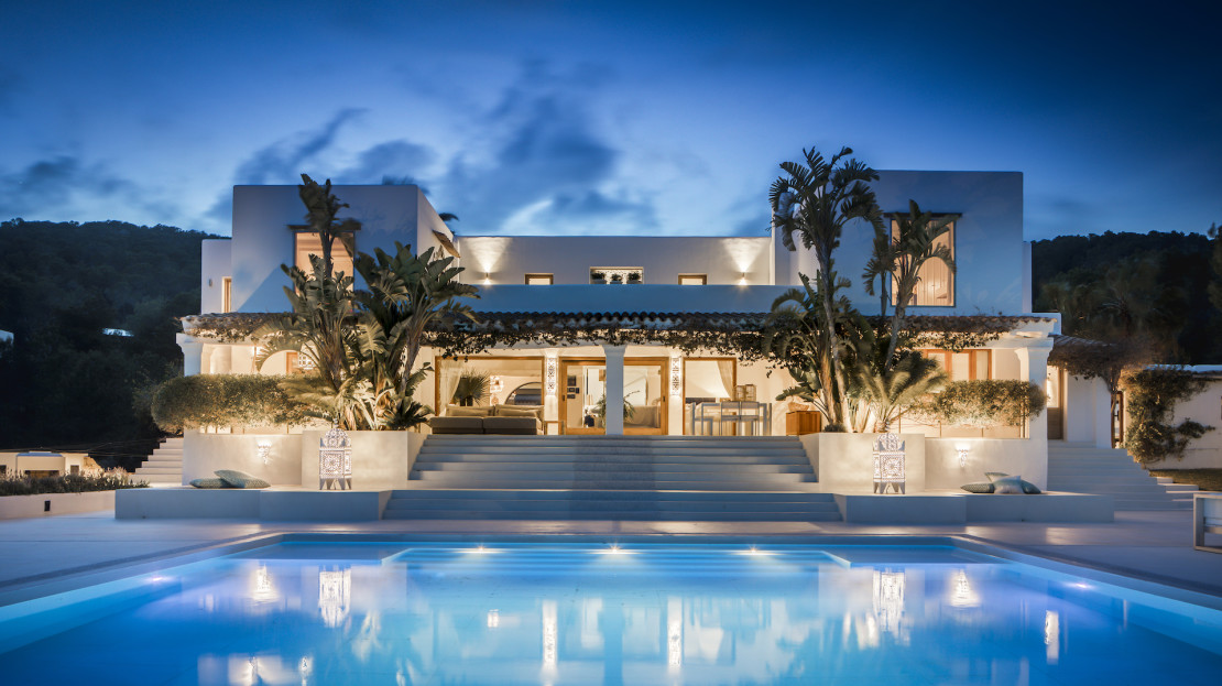 Luxury villa to rent with Concierge services, 5mins away from Ibiza town, Spain