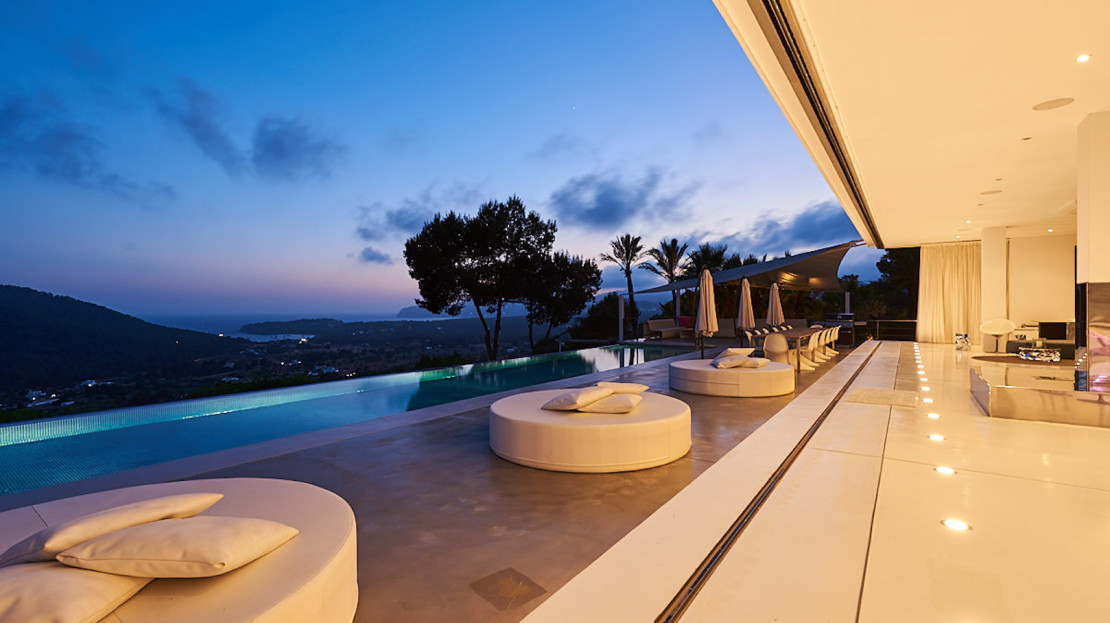 Top luxury villa to rent in Ibiza, with stunning sea views, Spain