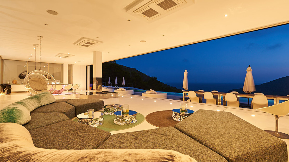 Most prestigious property available to rent this summer in Ibiza, Balearic Island, Spain