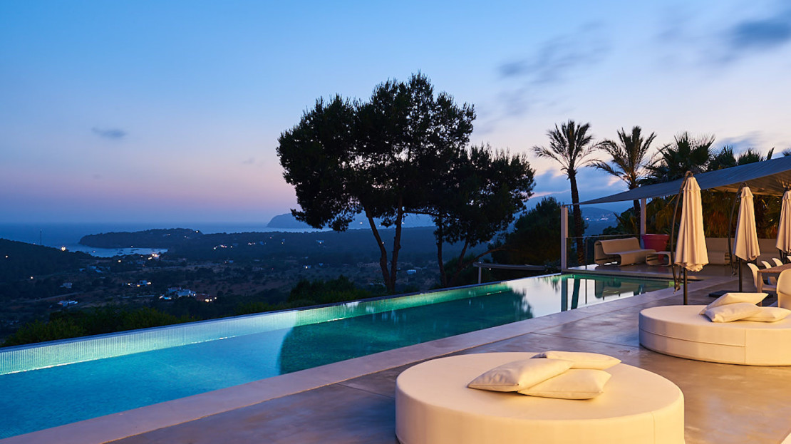 One of the most exclusive villa close to Cala Jondal, for holiday rental in Ibiza