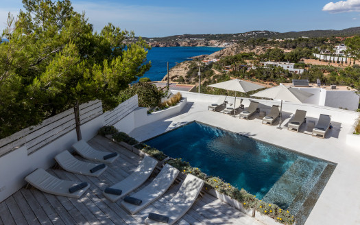 Villa with sea views in Ibiza