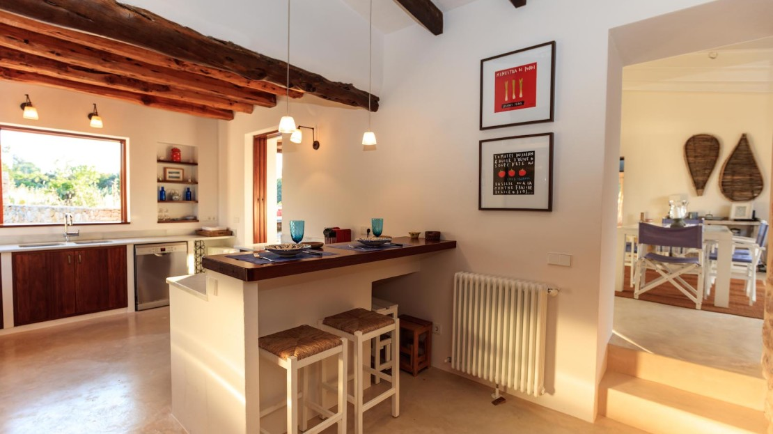 Lovely mediterranean house for your next holidays in Formentera, Spain