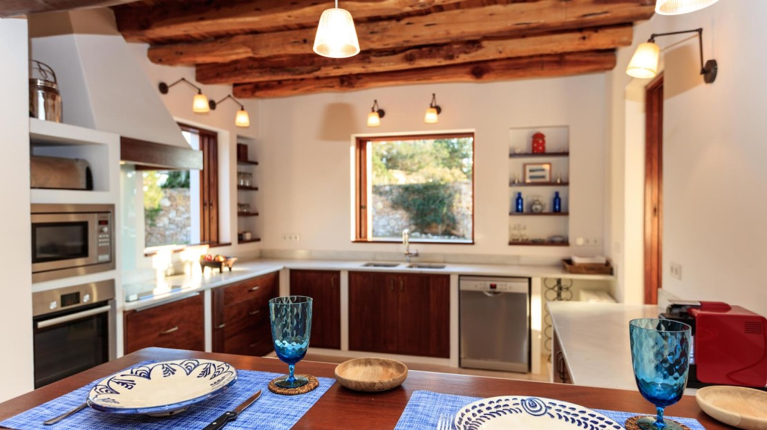Can Larzac is a holiday house with private pool to rent in Formentera