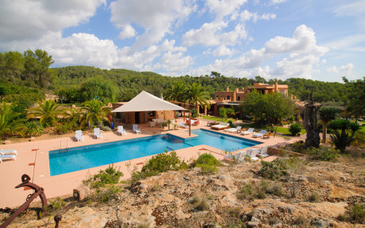 Countryside villa with extra large pool, San Rafael, Ibiza