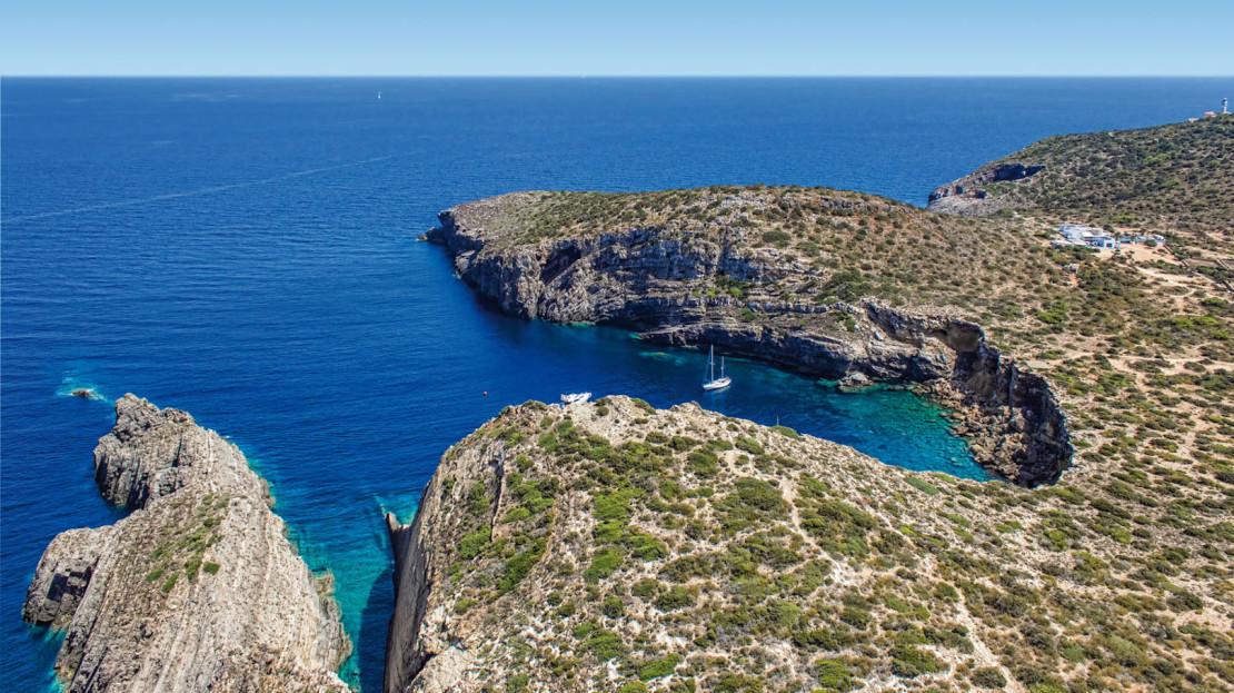 Private island to rent in Ibiza
