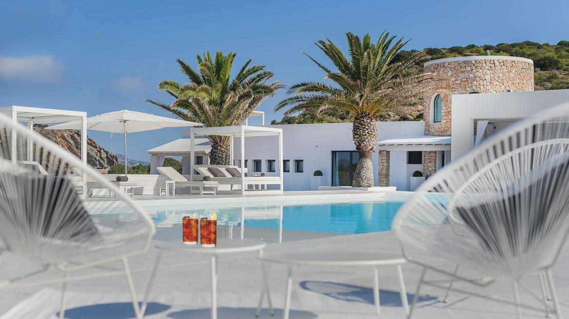 Private island to rent in Ibiza, Balearic island, Spain