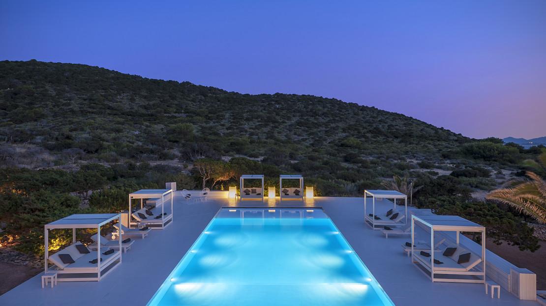 Private island rental, Balearic, Spain