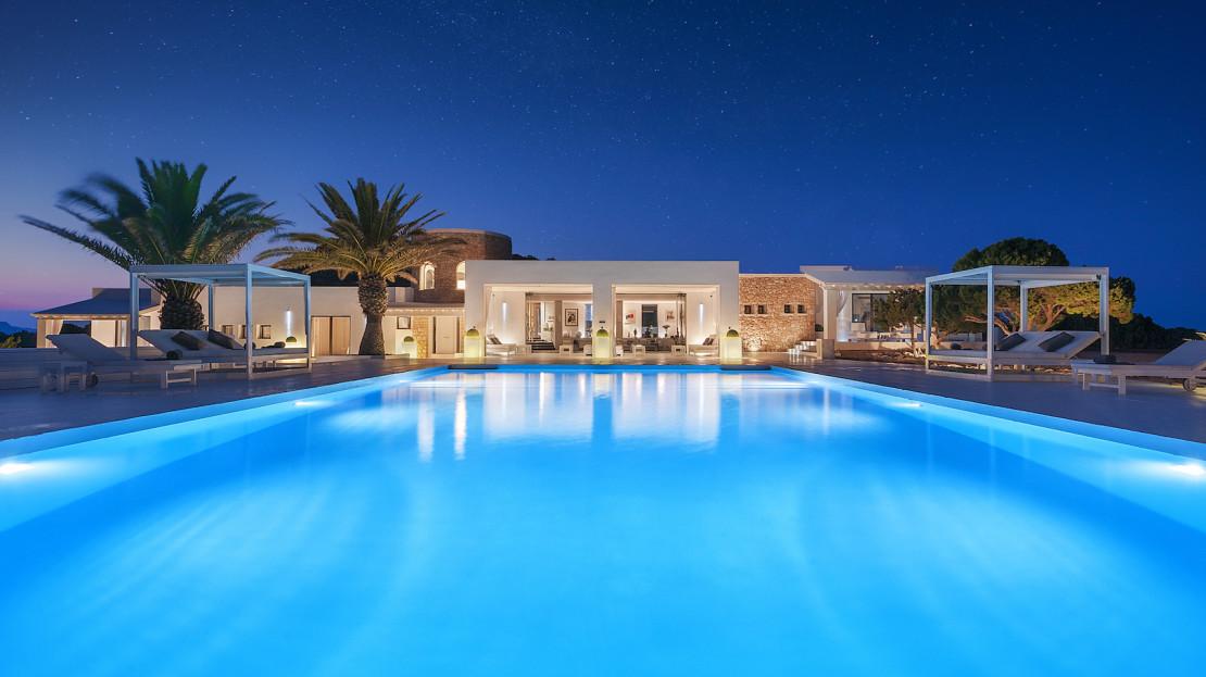 Ibiza private island rental