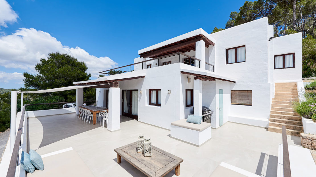 Mediterranean villa, a perfect luxury retreat for your next holiday in Ibiza, Spain